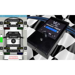 App screenshot and the Pressure Wizard itself